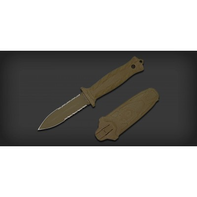 چاقوی گربر تیغه ثابت دفاکتو مدل Gerber Defacto Knife