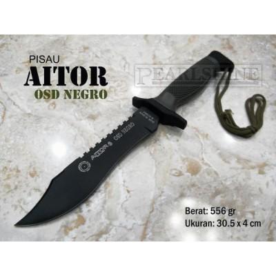 چاقو نظامی ایتور مدل Pisau Aitor OSD Negro