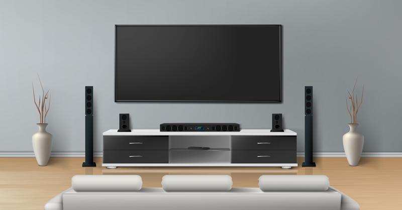 تلویزیون های با صفحه نمایش بزرگ مناسب چه خانه هایی هستند؟